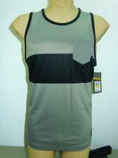 NWT $40 Mens Under armour HeatGear Hut 1 Tank Loose Fit Shirt Gray/Black