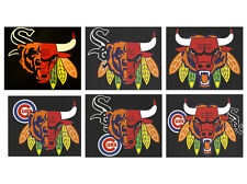 Custom T-Shirt - Chicago Bears, Blackhawks, Bulls, Cubs, White Sox