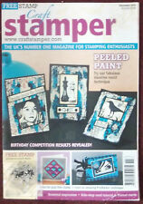 Craft Stamper Magazine with FREE GIFTS NEW **REDUCED PRICE**