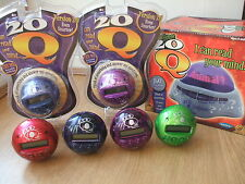 NEW 20Q QUESTIONS ELECTRONIC MIND READING GAME RADICA 360 PURPLE RED BLUE 20 Q
