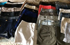 EXPRESS EDITOR, DENIM, TWILL, DRESS SHORTS (CHOOSE ONE) SIZES 0,2,4,8 Free Ship