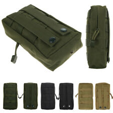 1000D MOLLE Utility Tactical Waist Pouch Bag Sport Military Camping Medical Pack