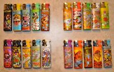 50 x Ed Hardy Lighters Refillable Torch Lighters brand new (Different Design)