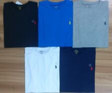 Polo Ralph Lauren Crew-Neck T Shirt - LONG Sleeve Custom fit Tee Genuine Polo RL