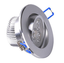 9W LED Ceiling Down Light Recessed Fixture Cabinet Lamp Bulbs Warm Cool White