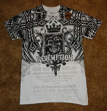 UFC Mens T Shirt MMA Elite S Small  M  NEW Official Licensed NWT Redemption