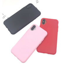 Loving Heart Phone Case For iphone X Cute Candy Color Protective Soft TPU Slim
