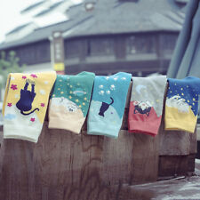 Fashion Women Lovely Cute Cat Socks Animal Cartoon Cotton Socks PL