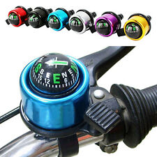 Bike Cycling BMX MTB Mountain Bell Handlebar Compass Ring-down Horn Bicycle Bell