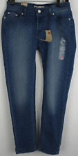 Levis Womens Juniors Skinny Cropped Jeans