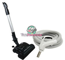30' or 35' Deluxe Central Vacuum Kit w/Hose, Power Head & Wand - Nadair DuoVac