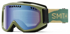 SMITH OPTICS SCOPE GOGGLES (YOUTH) (CAMO/BLUE SENSOR MIRROR) -FREE SHIPPING-