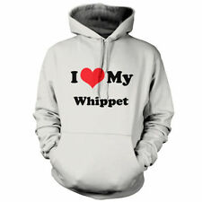 I Love My Whippet - Unisex Hoodie / Hooded top - Dog - Puppy - 9 Colours