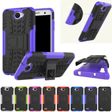 Heavy Duty Shockproof Hybrid Kick Stand Tough Case Cover For Sony Xperia Phones