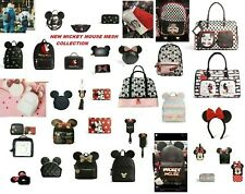 DISNEY MICKEY MINNIE MOUSE WITH EARS BACKPACK HAND CROSS BODY BAG PURSE PRIMARK