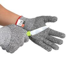 Outdoor Grey Gloves Working Protective Cut-Resistant Anti Abrasion Safety A4C9