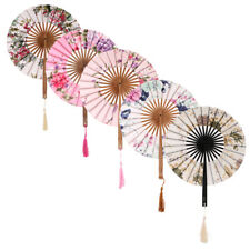 Chinese Japanese Vintage Folding Fan Hand Home Wedding Party Decoration Fans
