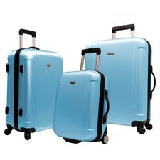 Travelers Choice Freedom 3 Piece Lightweight Spinner / Rolling Luggage Set