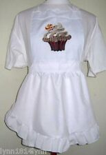 LADIES CUPCAKE PINI APRON Made to ORDER Can name & many designs