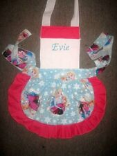 LADIES GIRLS/KIDS FROZEN PRINCESS APRON Made to Order All colors & sizes C STORE