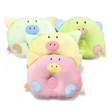 Infant Sleeping Baby Positioner Head Prevent Flat Head Cute Pig Shaped Pillow