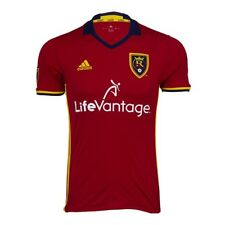 NWT REAL SALT LAKE 2016/17 (M,L) Adidas Home Soccer Jersey Football Shirt RSL