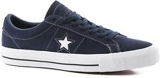 Converse One Star Pro Ox Obsidian White Mens Suede Skateboard Shoes