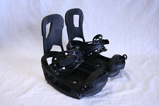 MENS BURTON CARTEL EST SNOWBOARD BINDINGS BLACK BRAND NEW MEDIUM LARGE