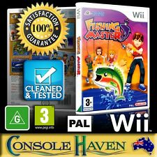 (Wii Game) Fishing Master (G) (Sports: Angling) PAL, Guaranteed, Cleaned, Tested