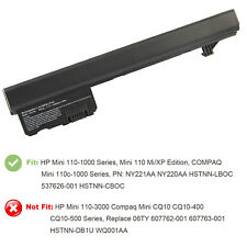 Battery for HP MINI 110 1101 110c HSTNN-CB0D 537626-001 537627-001 Charger Lot