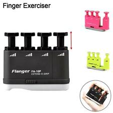 Guitar Bass Piano Hand Finger Exerciser Trainer Medium Tension Grip Training FT