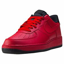 Nike Men's Air Force 1 '07 Gym Red/Gym Red Black Basketball Shoe 10 Men US