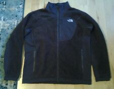 Mens The North Face sweater jacket brown size XL