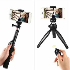 Extendable Selfie Stick Tripod Remote Bluetooth Shutter For iPhone Samsung Lot F