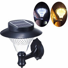 16 LED Outdoor Solar Power Path light Wall Fence Yard Lawn Garden Landscape Lamp