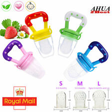 Baby Feeding Dummy Pacifier Fruits Shake Feeder Food Soother Weaning Teat