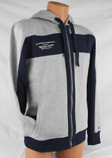 TOMMY HILFIGER MENS HOODIE SWEATSHIRT ZIP BUTTON USA FLEECE JUMPER JACKET NWT