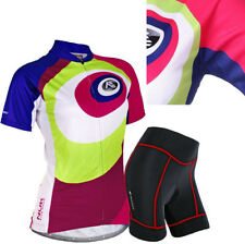 Women Bicycle Bike Cycling Short Sleeve Clothing Suit Jersey+Short Set Quick Dry