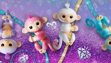 Wow Wee Fingerlings Baby Glitter Monkey Interactive Doll - Choose from 4