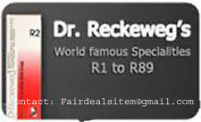 Dr. Reckeweg Germany Homeopathic drops R1 to R60 (22ml(
