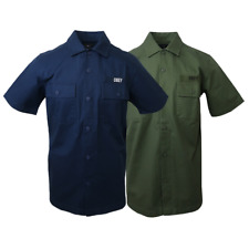 NWT Mens Obey Short Sleeve Woven (Retail: $90)