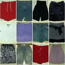 Shorts Girls  L 10 Skirt LEI Levis JEAN Slim 12  Faded Glory BLACK 14 16 & Skort