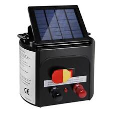 NEW 3km Solar Power Electric Fence Energiser Charger