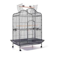 NEW Pet Bird Cage with Stainless Steel Feeders