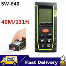 40m Digital Laser Distance Meter Measurer Area Volume Range Finder Measure MK
