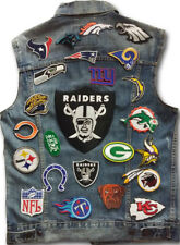 90 pcs Mix Sports Team Football Logo DIY Badge Embroidered Iron Sew On Patch Lot