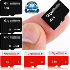 4/8/16/32GB Class 6/10 Micro SD Flash TF Memory Card For PSP Camera Cellphone