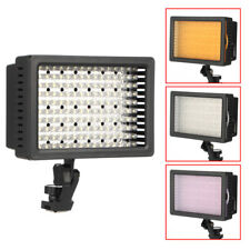 126/ 160 LED Video Light Camcorder Light Lamp For Canon Nikon Pentax DSLR Camera