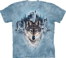 Blue Moon Wolves Wolf T Shirt Adult Unisex The Mountain