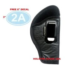 Leather Concealed Carry Gun Holster IWB Fits Glock 25, 380, Or Choose from list!